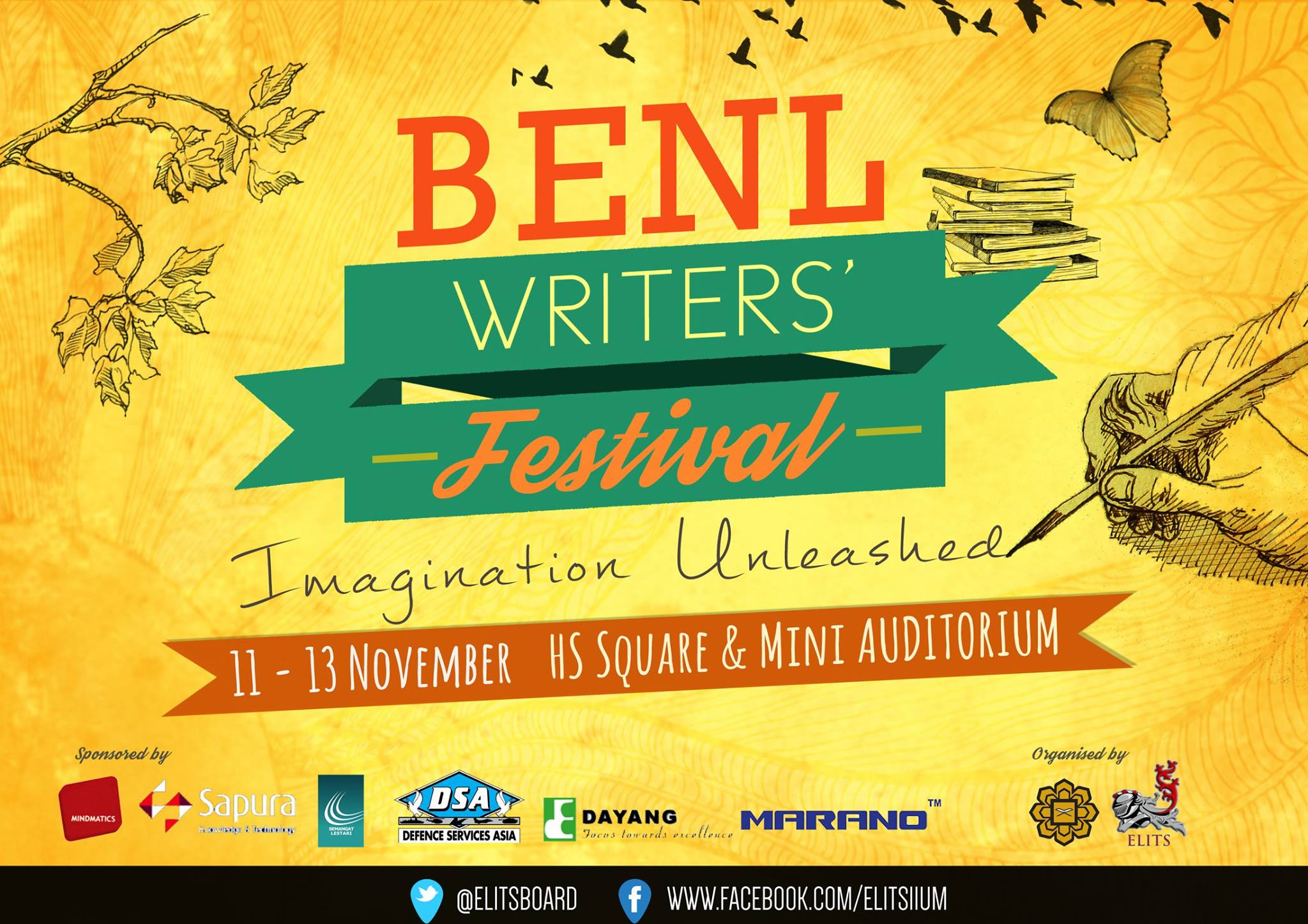 hobbies and interests arisya zainuddin video editing and benl writers festival