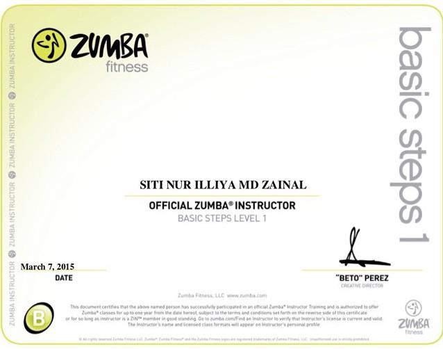 Certified Zumba Instructor, Zin Illiya – The BENL Insider