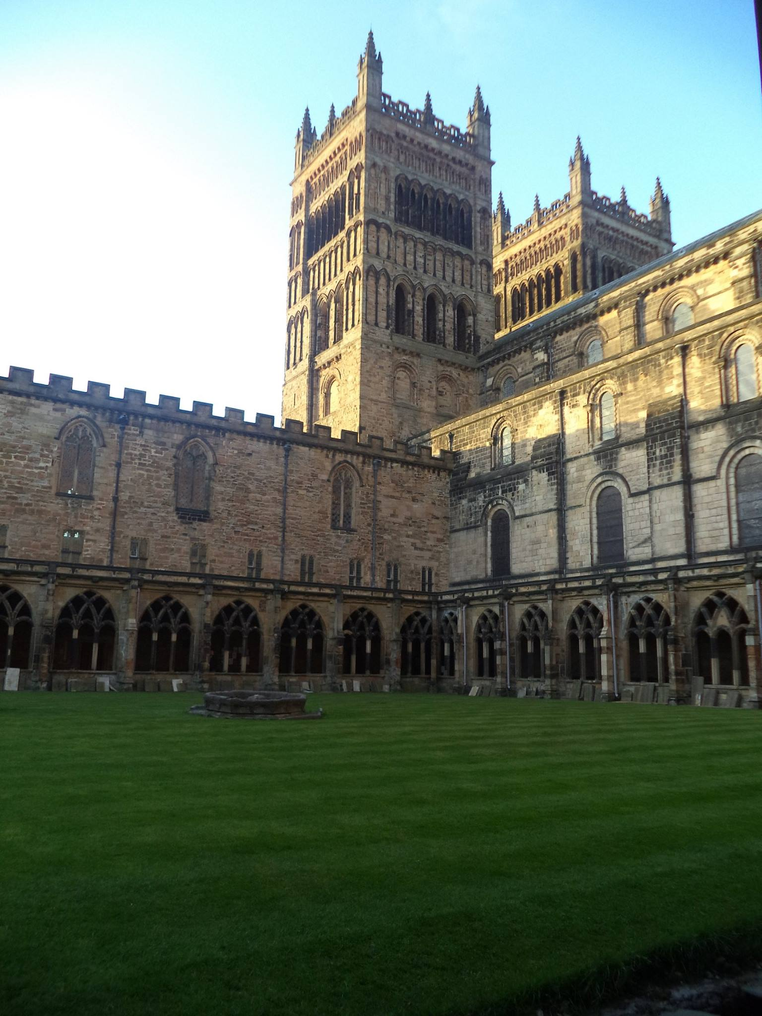 Durham Cathedral cloister area. Fun fact: Did you know ...